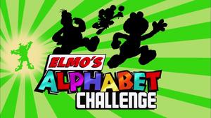 Elmo's Alphabet Challenge 2012 2