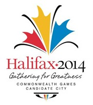 Halifax 2014 Commonwealth Games candidate city bid logo