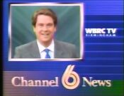 WBRC-TV Channel 6 Station ID with Scott Richards 1989