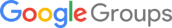 Google Groups logo 2015