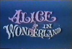 Alice In Wonderland H-B