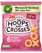 Walkers Baked Hoops and Crosses PC