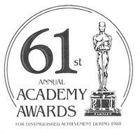 Oscars print 61st