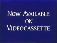 Walt Disney Studios Home Entertainment Buena Vista Now Available on Videocassette Logo