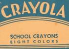 Crayola Crayons 1946