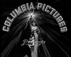 Columbia Pictures 1931 rare opening