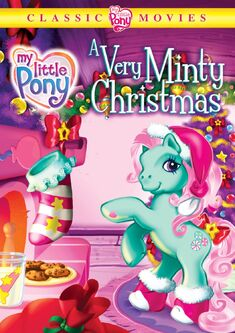 My Little Pony A Very Minty Christmas DVD and VHS