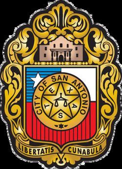 Seal of San Antonio, Texas