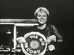 The Big Record cake