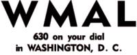 WMAL Washington 1947