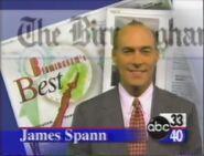 Alabama's ABC 33-40 Weather James Spann promo in 1997
