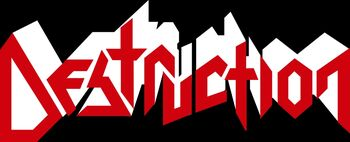 Destruction band logo 02
