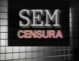Sem Censura - 1989 logo