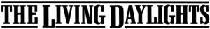 File:The Living Daylights Logo.jpg