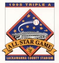 1995 Triple-A All-Star Game logo