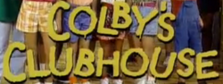 Colby's Clubhouse Logo 1990