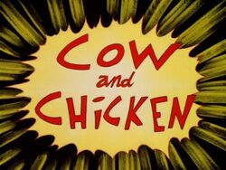 Cow and Chicken intertitle