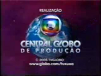 TV Xuxa seal short Globo 2005-2008 logo 2005