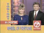 WLS-TV Wheel of Fortune promo 1994