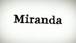Miranda (TV series) title