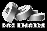 DGC Records logo, 1990