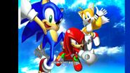 Sonic Heroes Team Sonic (MKDD Bonus Disc)