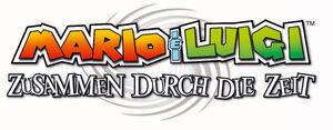 Logo DE - Mario & Luigi Partners in Time