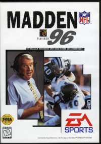 Madden NFL '96 Coverart