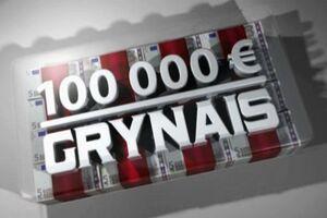 100 000 euru grynais logo