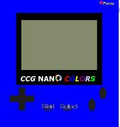 Ccg nano colors console