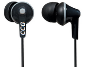 Ccg black headphones