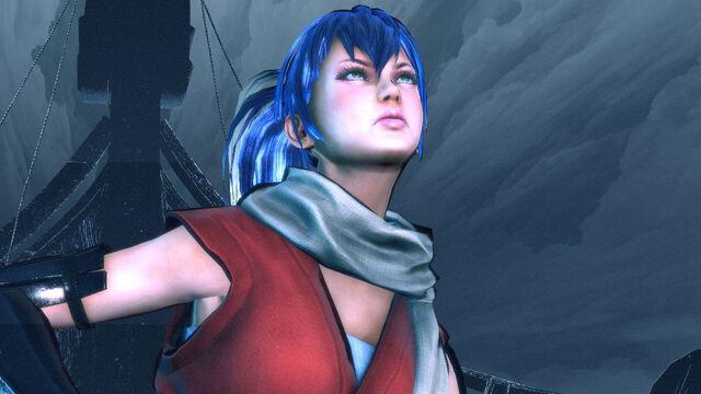 File:Lollipop Chainsaw Screenshot Juliet in Chifusa Manyū cosplay on Vikke's Longship.jpg