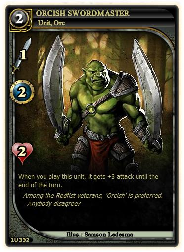 Orcish Swordmaster