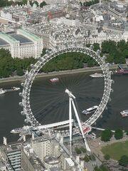 London Eye aerial