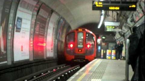 London Underground Victoria Line 2009 Stock Observations