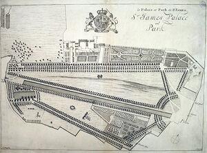 St James's Park (original layout)
