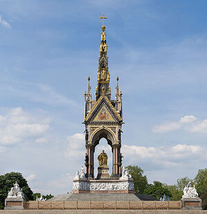 Albert Memorial, London - May 2008