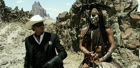 Lone-ranger-2013-movie-john-reid-tonto-armie-hammer-johnny-depp-horses-make-up-review