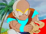 Vegeta and krillin
