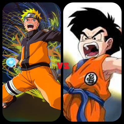 Naruto vs Krillin