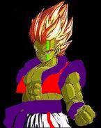 Goku and piccolo fusion