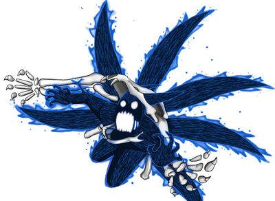 Wowe blue six tails o.o