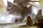 Dragon 07 concept art (Rock Dragon)