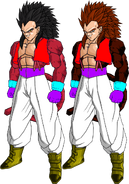 Ligares ssj4 by db own universe arts-d366m9a