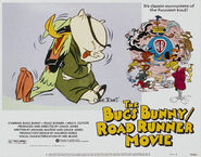 Lt bugs bunny road runner movie lobby card 2