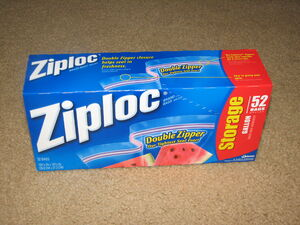 Gallon Ziploc box