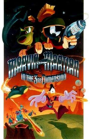 Marvin the Martian in 3D poster