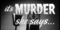 It's Murder She Says