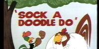 Sock a Doodle Do