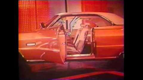 1969 Plymouth Commercial With Road Runner and Wile E. Coyote